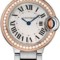 Cartier Ladies WE902079 Ballon Bleu Silver Dial Watch