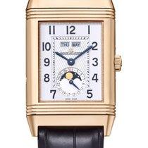 Jaeger-LeCoultre Grande Reverso Calendar Pink Gold Silver Dial M
