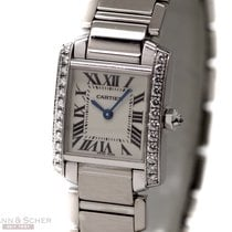 Cartier Tank Francaise Lady Ref-WE100251 18k White Gold...