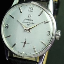 Omega Seamaster 30 Winding Side Second Steel Mens Watch 14713-4