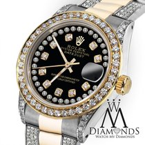 Rolex Ladies Rolex Oyster Perpetual Datejust 26mmcustom...