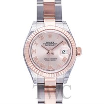 롤렉스 (Rolex) Lady Datejust 28 Sundust 18k Everose gold/Steel...