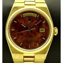Rolex | Day-date Oysterquartz Wood Dial  Ref.19018