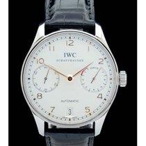 IWC Portugieser 7 Tage - Ref.: w500114 - Edelstahl - Box/Papie...
