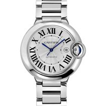 Cartier W69012Z4 Ballon Belu 42mm Automatic in Steel - on...