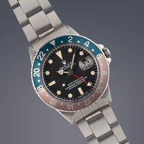 Rolex GMT-Master Ref.1675 'Pepsi' stainless steel...