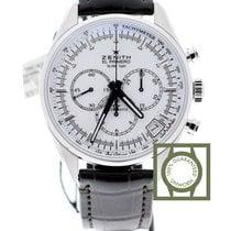 Zenith El Primero 36'000 VpH Chronomaster 42 white dial...