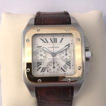 Cartier Santos 100 XL Gold Chronograph