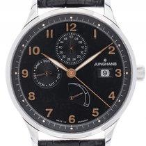 Junghans Attache Kalender Gangreserve Stahl Automatik Armband...