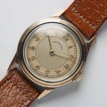 """Movado 1940'S 14811 """"SHREVE CRUMP & LOW CO.""""  Borgel Case Vintage"""