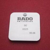 Rado Wasserdichtigkeitsset 0025 für Gehäusenummer 129.0301.3,...