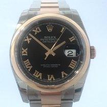 Rolex Datejust 36 mm Edelstahl Roségold Ref. 116201