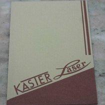Kaster Laser vintage warranty  booklets rare newoldstock