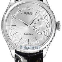 Rolex Cellini Date 39mm 50519 Silver
