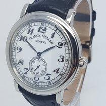 Franck Muller Mens Steel Manual Wind 42mm Dress Watch