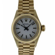 롤렉스 (Rolex) Oyster Perpetual 24mm 18kt Yellow Gold Fluted...