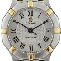 Concord Saratoga Two Tone Quartz Ladies Watch