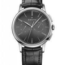 Zenith Elite Chronograph Classic Stainless Steel Men's Watch