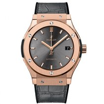 Hublot Classic Fusion  18k Rose Gold Mens WATCH 542.OX.7081.LR