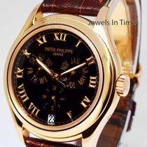 Patek Philippe Annual Calendar 18K Rose Gold Watch Box +...
