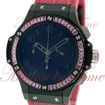 Hublot Big Bang 41mm Tutti Frutti Rose, Mat Black Dial, Pink...