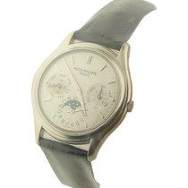 Patek Philippe 3940G 3940 Perpetual Calendar in White Gold -...