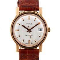 Venus Chronometre Vintage In Oro Giallo 18kt Ref. 1052