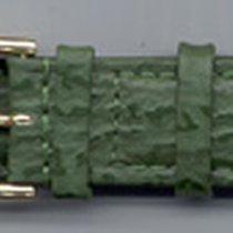 Leder-Armband 20mm grün