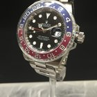 Rolex GMT II  white Gold pepsi blue sticked