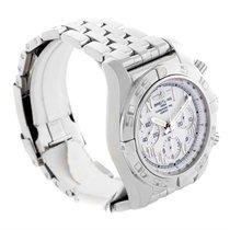 ブライトリング (Breitling) Chronomat 01 White Dial Steel Mens Watch...