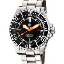 Deep Blue Master 2000 Automatic Diver Swiss Eta 2824-2 Orange...