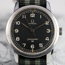 Omega SEAMASTER 30 135.007 -64 Factory Black Dial Vintage Watch
