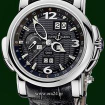 Ουλίς Ναρντέν (Ulysse Nardin) GMT 42mm Perpetual  Calendar 18k...