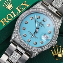 Rolex Exclusive Diamond Rolex 15200 34mm Stainless Steel Watch...