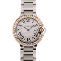 Cartier Ballon Bleu 28 Gemstone Lady