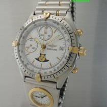 Breitling Chronomat Moonphase Chronograph UTC very rare 81950
