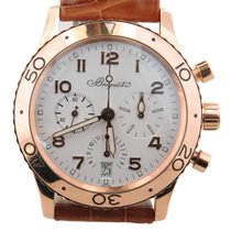 Breguet Type Xx Flyback Chrono Ref 3820 Solid 18k Rose Gold W/...