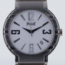 Piaget Polo Mens, Platinum, Very Rare, Automatic, White Dial,...