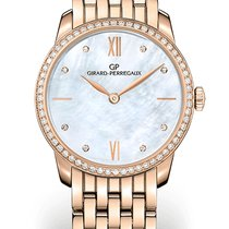 Girard Perregaux 1966 30MM Pink Gold Mother-of-pearl Strap...