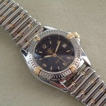 Breitling Lady Callistino Stahl / Gold mit Rouleauxband Stahl...