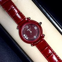 Chopard Be Happy Ladies Watch 3 Factory Diamonds, Rubies &...