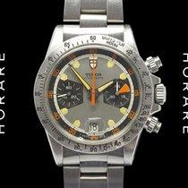 Tudor 7032 Homeplate Chronograph Valjoux 7734 Rare Vintage