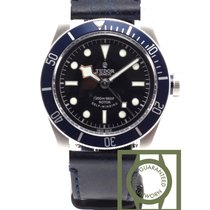 Tudor Heritage Black Bay midnight blue leather NEW