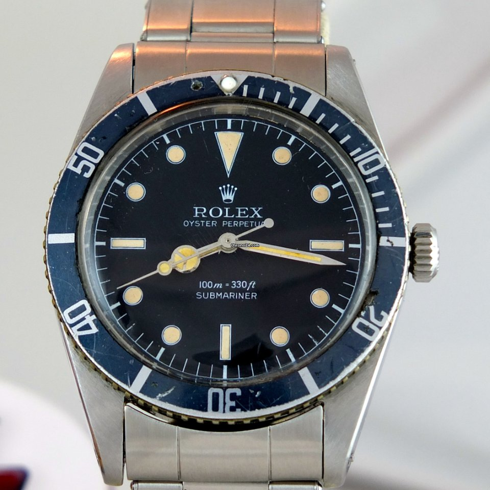 rolex 5508 submariner james bond von 1959 for 14 923 for sale from a trusted seller on chrono24. Black Bedroom Furniture Sets. Home Design Ideas