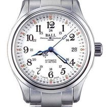 Ball Trainmaster 60 Second Herrenuhr NM1058D-S3J-WH