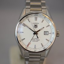 TAG Heuer Carrera Calibre 7 Twin-Time Automatik 41mm UNGETRAGEN