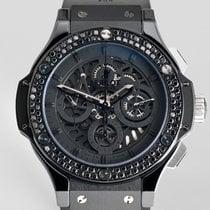 "Χίμπλοτ (Hublot) Aero Bang ""All Black Diamond"""