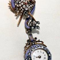 Fabergé Faberge Schmuckuhr von 1914/1915 selten Antik Diamantr...