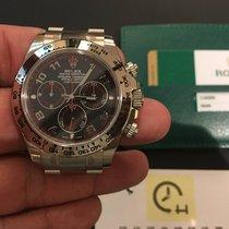 Rolex 勞力士 (Rolex) 116509 Daytona White Gold Black Dial 40mm
