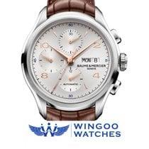 Baume & Mercier Clifton Chronograph Watch Ref. MOA10129/M0...